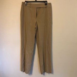 Tan Loft Dress Pants